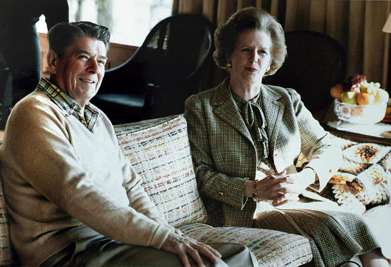 Architects of the neoliberal turn in 1984