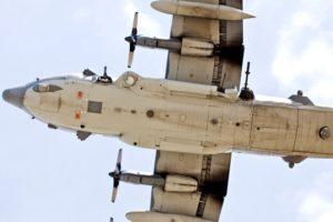 Belly of an AC-130 gunship. Photo: Wikipedia