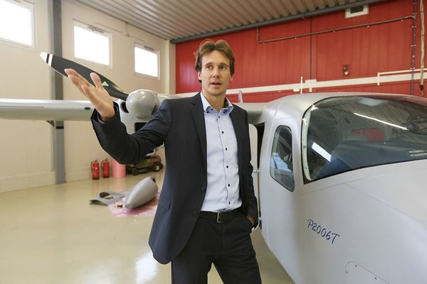 Kristof Nagl, chief financial officer of Airborne Technologies, helped Prince set up a Bulgarian front company. Photo: Airborne Technologies