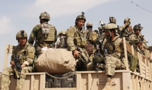 Afghan special forces prepare to launch an operation to retake the city of Kunduz from Taliban insurgents in Afghanistan, Sept. 29, 2015. Photo: Chine Nouvelle/Sipa/Newscom