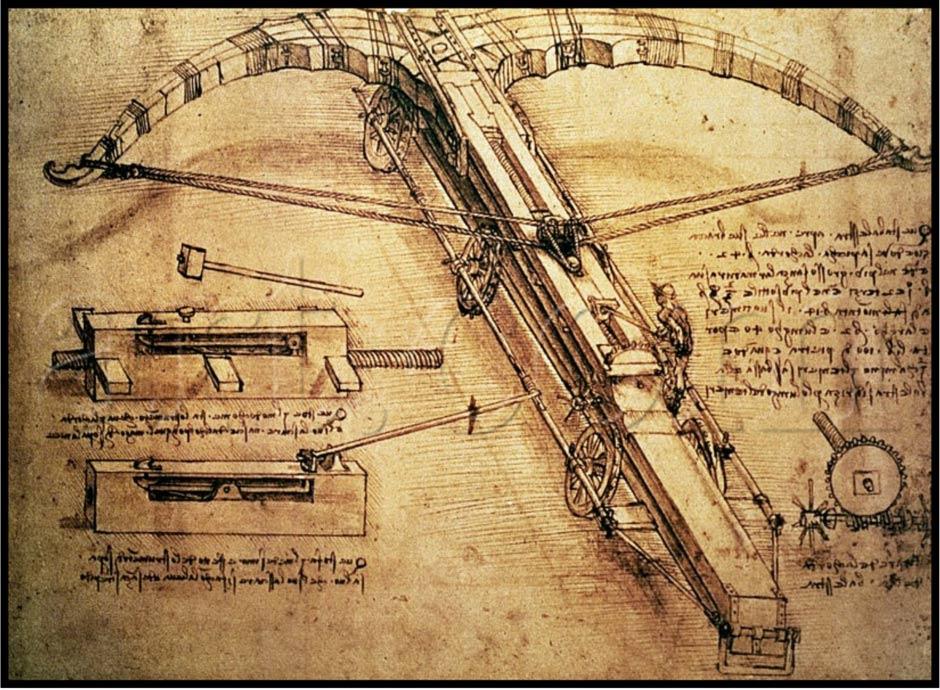 Леонардо да винчи как сделать изобретения в