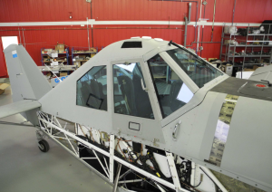 Inside a hangar in Austria, the Thrush were stripped down and rebuilt as paramilitary aircraft. Photo obtained by The Intercept