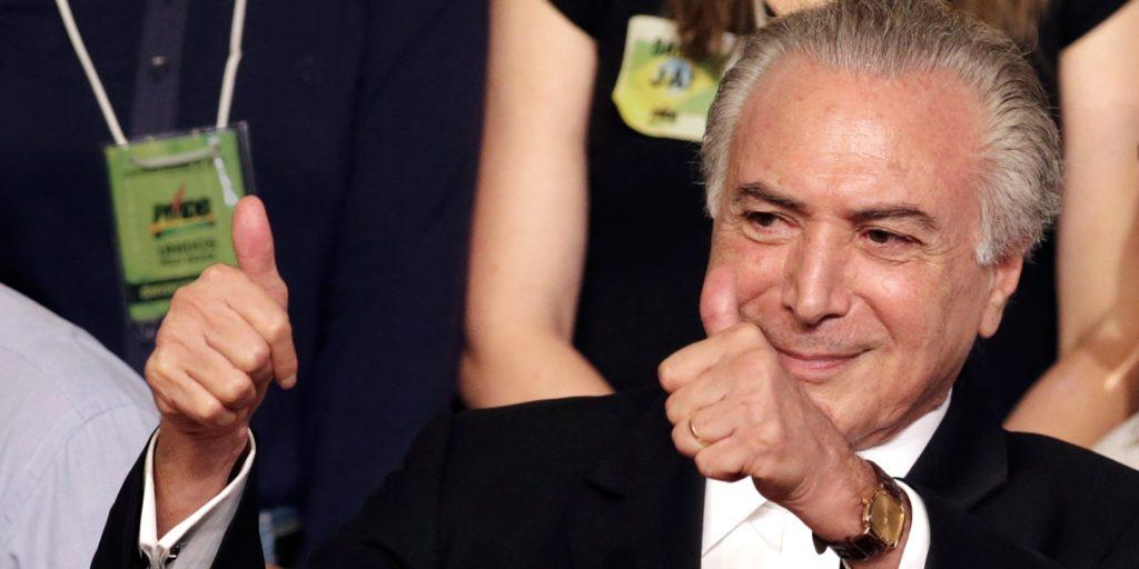 Michel Temer - Photo: Eraldo Peres/AP