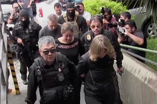 Employees of Mossack Fonseca were among those arrested by Brazilian police as part of Operation Car Wash. Image: RedeTV