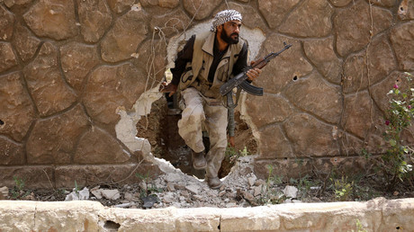 Jaysh al-Islam used chem weapons in Syria & has delegate at UN peace talks