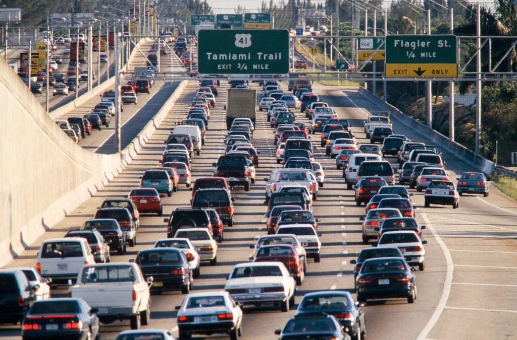 traffic system cars automobiles highway