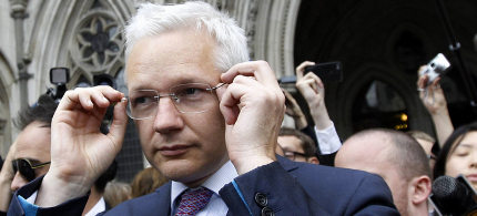 WikiLeaks founder Julian Assange. (photo: Suzanne Plunkett/Reuters)