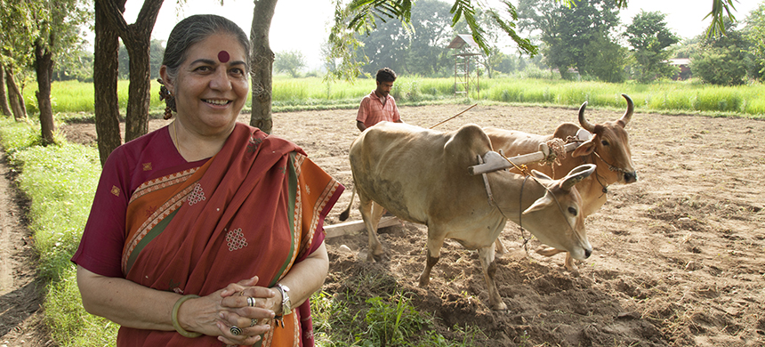 Vandana Shiva. (photo: The Seeds of Vandana Shiva film)