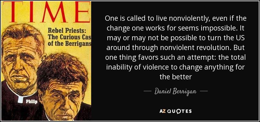 Daniel Berrigan logo