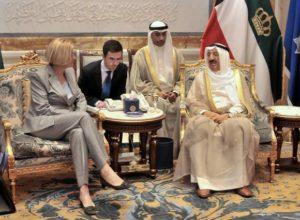 Ministra Pinotti kuwait italia
