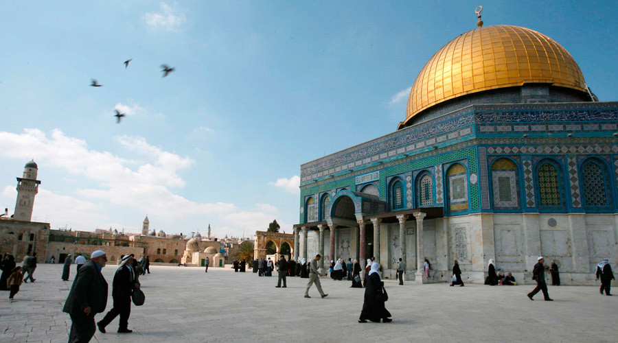 Al-Aqsa mosque in Jerusalem's Old City © Ammar Awad / Reuters