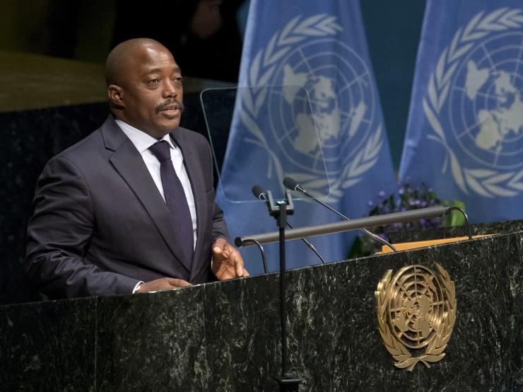 Congolese President Joseph Kabila CREDIT: AP Photo/Mary Altaffer