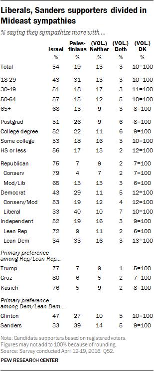 liberals bernie sanders supporters democrats usa elections