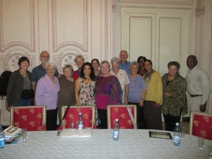 Families of the Cuban Five met with the Richmond delegation. – Photo courtesy of Tarnel Abott