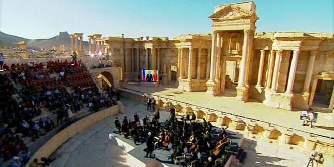 palmyra concert syria russia