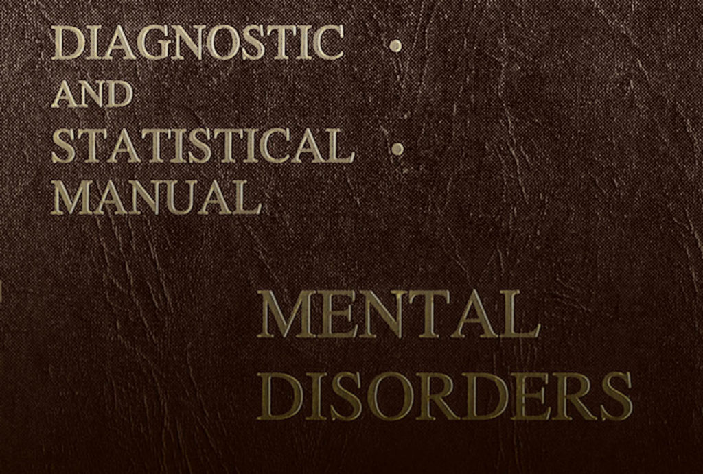 Cover of Diagnostic and Statistical Manual of Mental Disorders (American Psychological Association, 1952).