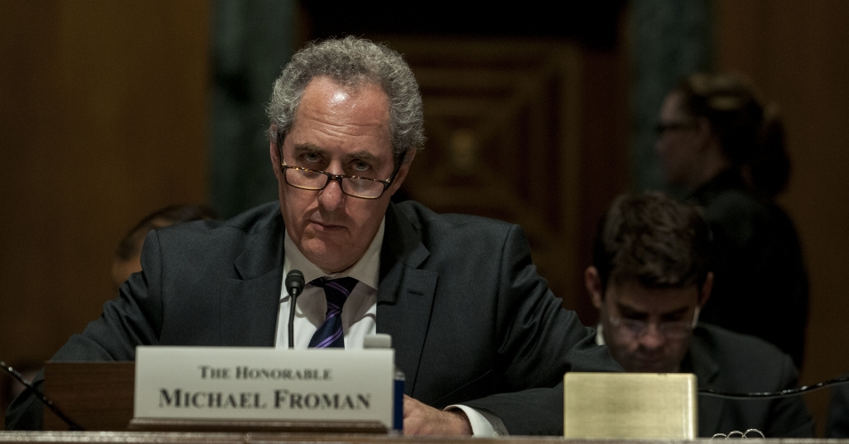 US Trade Representative Michael Froman worked for Citigroup before joining the Obama administration. (Photo: Gabriella Demczuk/Getty Images)