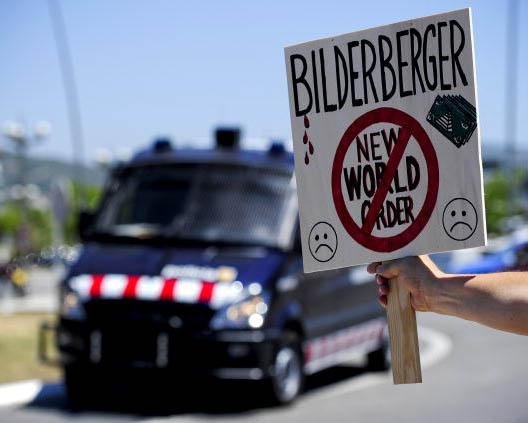 The Bilderberg Conference is often the target if protests and conspiracy theories Josep Lago/Getty Images