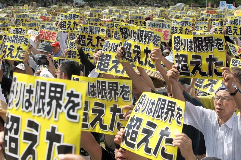 demo okinawa japan usa military2