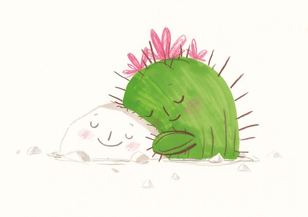 Art by Simona Ciraolo from Hug Me