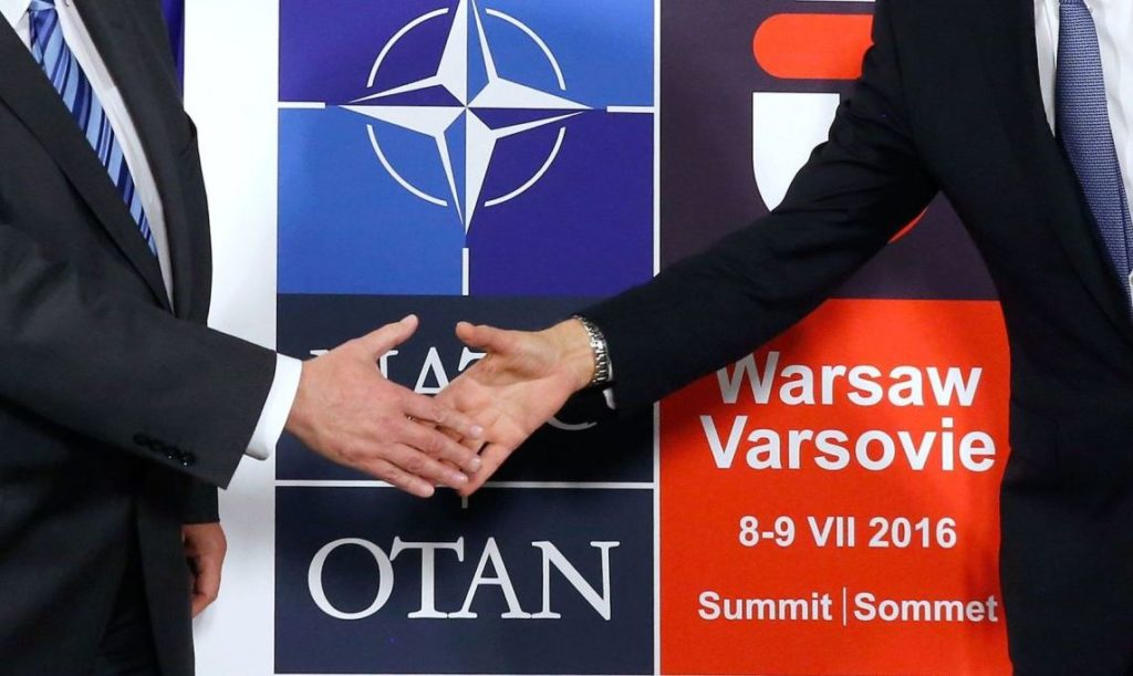 logo nato summit warsaw otan