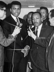 Muhammad Ali & Dr. Martin Luther King, Jr.