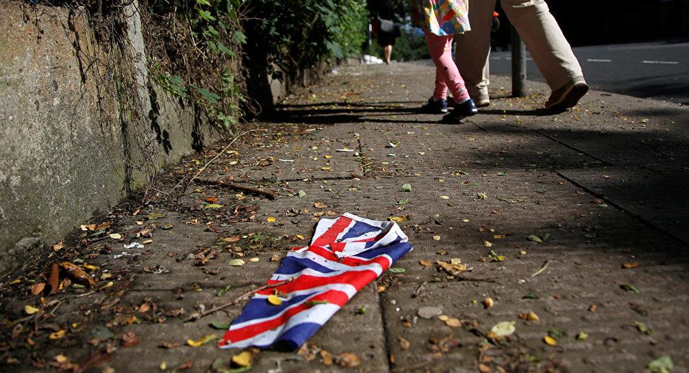 uk flag floor