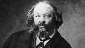 Retrato del ruso Mijail Bakunin en 1860. | Foto: EFE