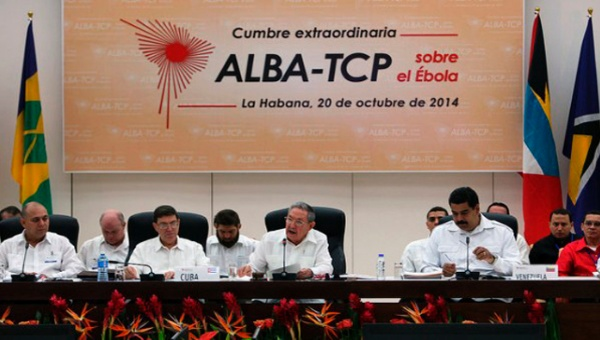Heads of state at a meeting of the ALBA bloc. | Photo: AVN