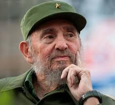 Commandant Fidel Castro Ruz, révolutionnaire, ancien président et premier ministre de Cuba.
