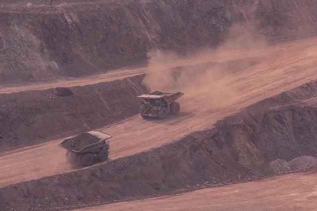 Trabalhadores na mineração / Marcelo Cruz/ Brasil de Fato