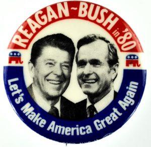 reagan bush lets make america great again