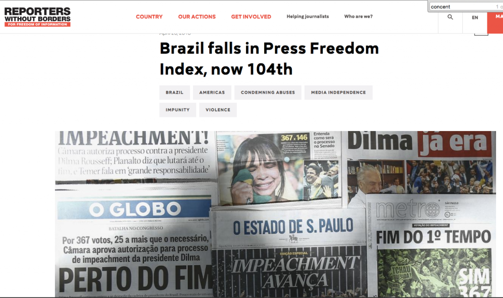 reporters without borders folha fraud brasil