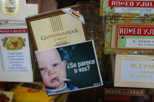 Uruguayan tobacco packaging. Photo: Andrew Sorensen. Used under Creative Commons license.