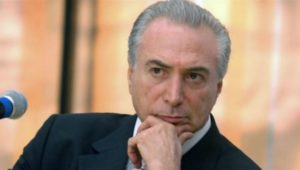 Temer no contaba con que su gestión iba a ser tan ampliamente rechazada. | Foto: La Nación (Archivo).