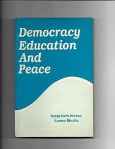 Democracy Education and Peace cover