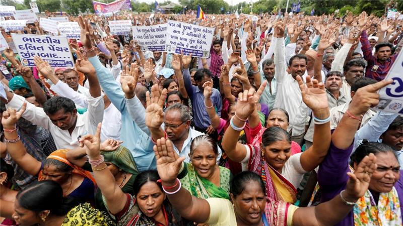 We need to nurture the desire to reduce the gap between rich and poor, writes Mahadeva [Reuters]