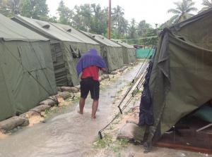 Manus detention site. Photo: Sarah Hanson-Young. Used under Creative Commons license