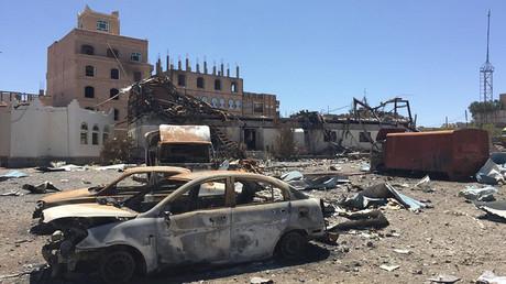 'May be war crimes': HRW slams Saudi-led coalition bombing of civilian businesses in Yemen (RT)