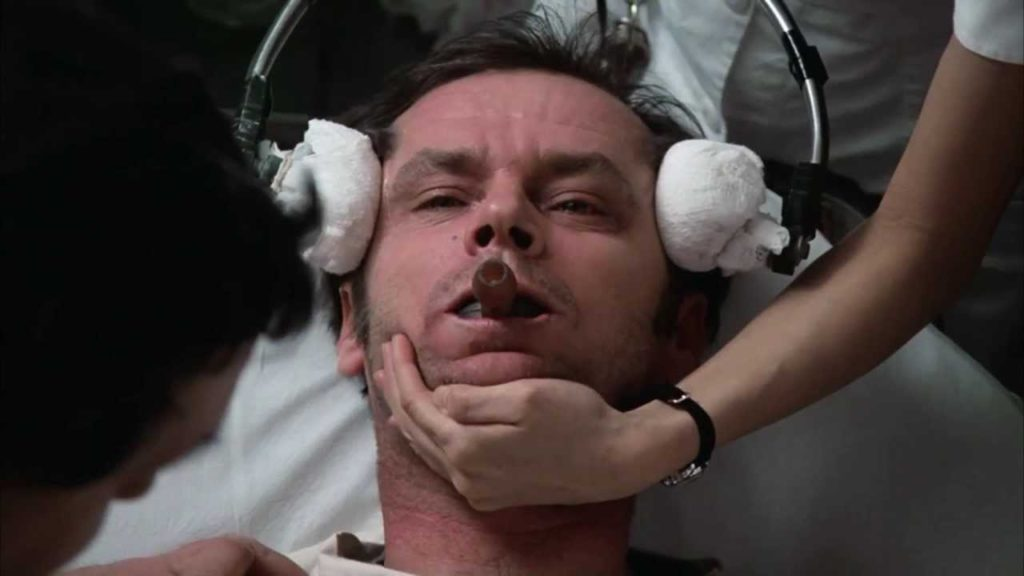 """Iconic Image from """"One Flew Over the Cuckoo's Nest"""""""