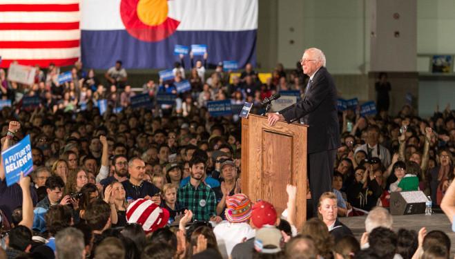 Bernie Sanders Rally in Denver, Colorado at the Colorado Convention Center. / Photo credit Hans Watson @Flickr