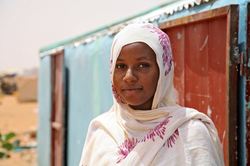 Tinalbarka Walid Amano is 16 and has lived in Mbera since 2012 SPIEGEL ONLINE