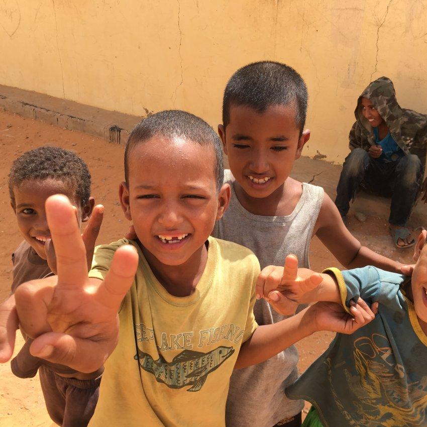 """Tuareg refugee children: """"Azawad, Azawad."""" SPIEGEL ONLINE"""
