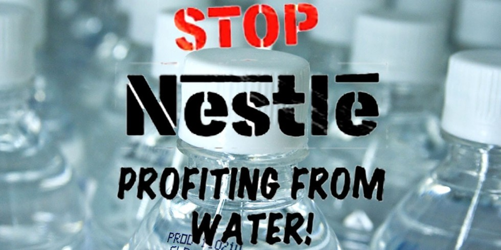 stop-nestle-profiting-from-water-sign-protest