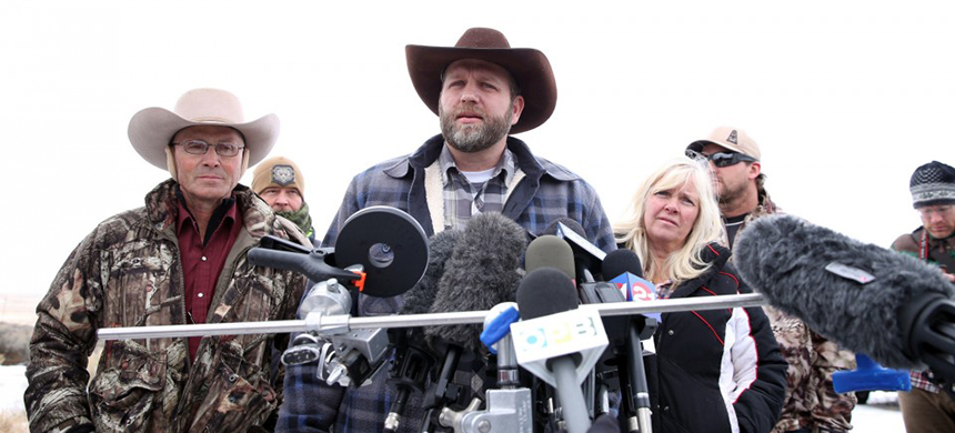Ammon Bundy, one of the sons of Nevada rancher Cliven Bundy. (photo: Beth Nakamura/The Oregonian)