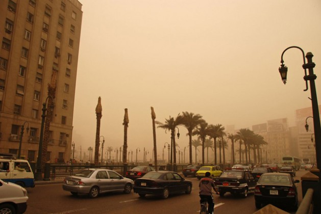 "Air pollution in Cairo, Egypt. Credit: World Bank/Kim Eun Yeul "" Source: UN News Centre"