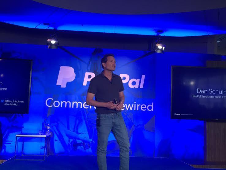 PayPal CEO Daniel Shulman