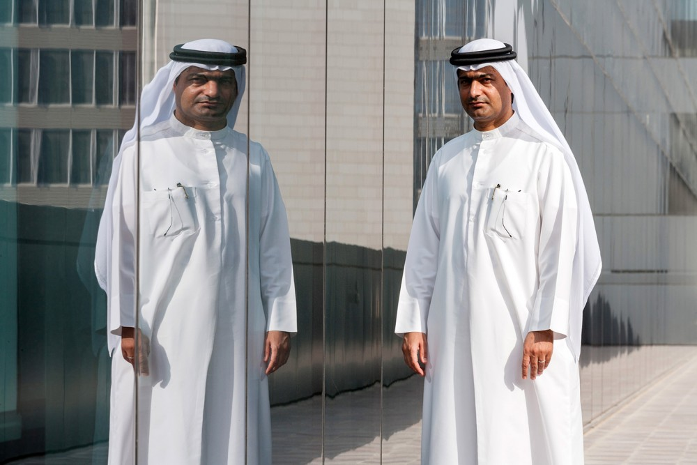 Ahmed Mansoor, a Dubai-based blogger and activist, poses for a portrait in Dubai, in the United Arab Emirates, on Sept. 25, 2012. Photo: Bloomberg/Getty Images