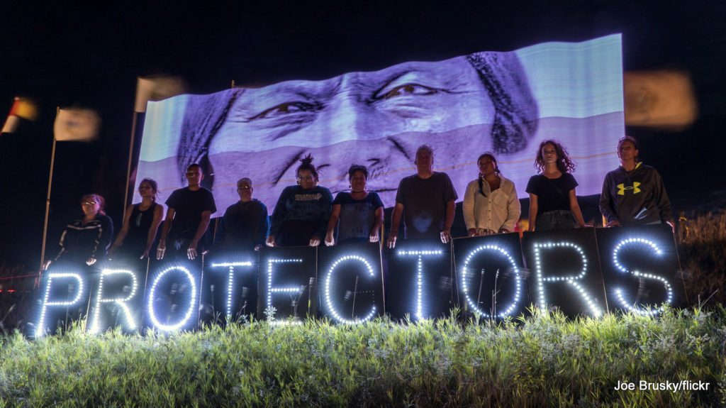 Over 200 Indigenous Nations have descended upon Canon Ball, ND to take a stand against the Dakota Access Pipeline.