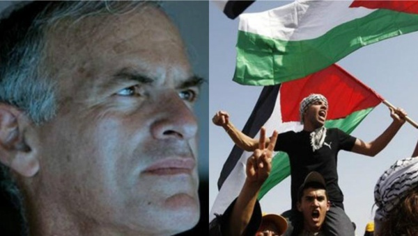 Norman Finkelstein (L) and Palestinians fighting Israeli occupation (R). | Photo: Reuters